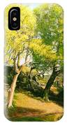 Landscape With Trees In Wales IPhone Case