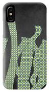 Languettes 02 - Lime IPhone Case