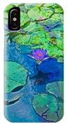 Languid Lagoon IPhone Case