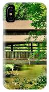 Lanterman's Mill Covered Bridge IPhone Case