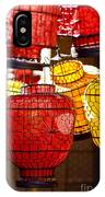 Lanterns In Market Place IPhone Case