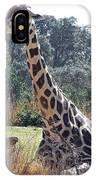 Large Giraffe IPhone Case