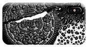 Large Oreo Black And White  IPhone Case