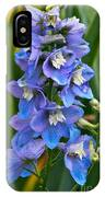 Larkspur And Lady Friend IPhone Case