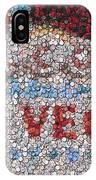 Las Vegas Sign Poker Chip Mosaic IPhone Case