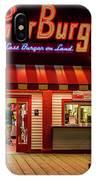 Last Burger On Land IPhone Case
