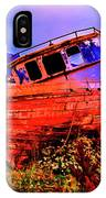 Last Red Boat IPhone Case