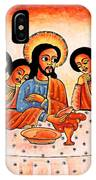 Last Supper Angels IPhone Case