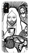 Last Supper...see You Later My Friends... IPhone Case