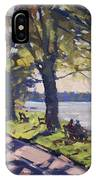 Late Afternoon At Niawanda Park IPhone Case
