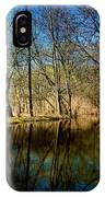 Late Afternoon Canal IPhone Case