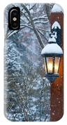 Late Afternoon Snow IPhone Case