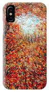 Late Autumn IPhone Case