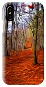 Late Fall In The Woods IPhone Case