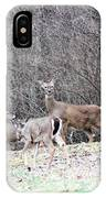 Late Winter Whitetails IPhone Case