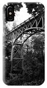 Latourell Bridge IPhone Case