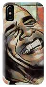 Laughing President Obama IPhone Case