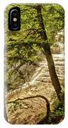 Laughing Whitefish Falls 2 IPhone Case