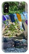 Laundry Drying In The Wind IPhone Case