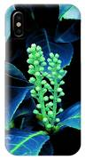 Laurel Flower Buds IPhone Case