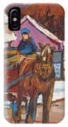 Laurentian Carriage Ride IPhone Case