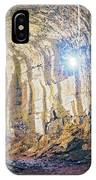 Lava Tunel On Santa Cruz Island, Galapagos IPhone Case