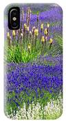 Lavender And Flowers Oh My IPhone Case