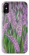 Lavender Blooms IPhone Case