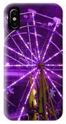 Lavender Ferris Wheel IPhone Case
