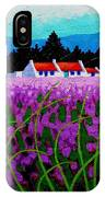 Lavender Field - County Wicklow - Ireland IPhone Case