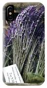 Lavender For Sale IPhone Case