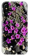 Lavender In The Rocks IPhone Case