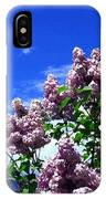 Lavender Lilacs IPhone Case