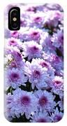 Lavender Mums IPhone Case