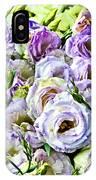 Lavender Ranunculus  IPhone Case
