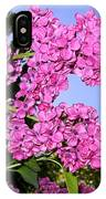Lavish Lilacs IPhone Case