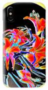 Lavish Lilies 2 IPhone Case