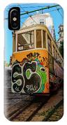 Lavra Funicular, Lisbon, Portugal IPhone Case