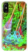 Lawn Tools IPhone Case