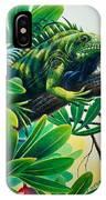Lazin' Iguana IPhone Case