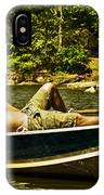 Lazy Afternoon In The Park IPhone Case