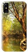 Lazy Afternoon On The Creek 2 IPhone Case