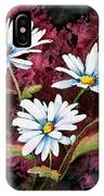 Lazy Daisies IPhone Case