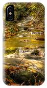 Lazy Mountain Water Fall IPhone Case