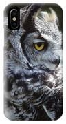 Lazy Owl IPhone Case