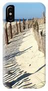 Lbi Dunes IPhone Case