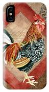 Le Coq - Greet The Day IPhone Case