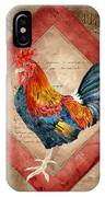 Le Coq - Timeless Rooster  IPhone Case