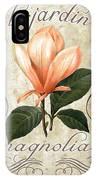 Le Jardin Magnolias IPhone Case
