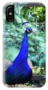 Le Peacock IPhone Case
